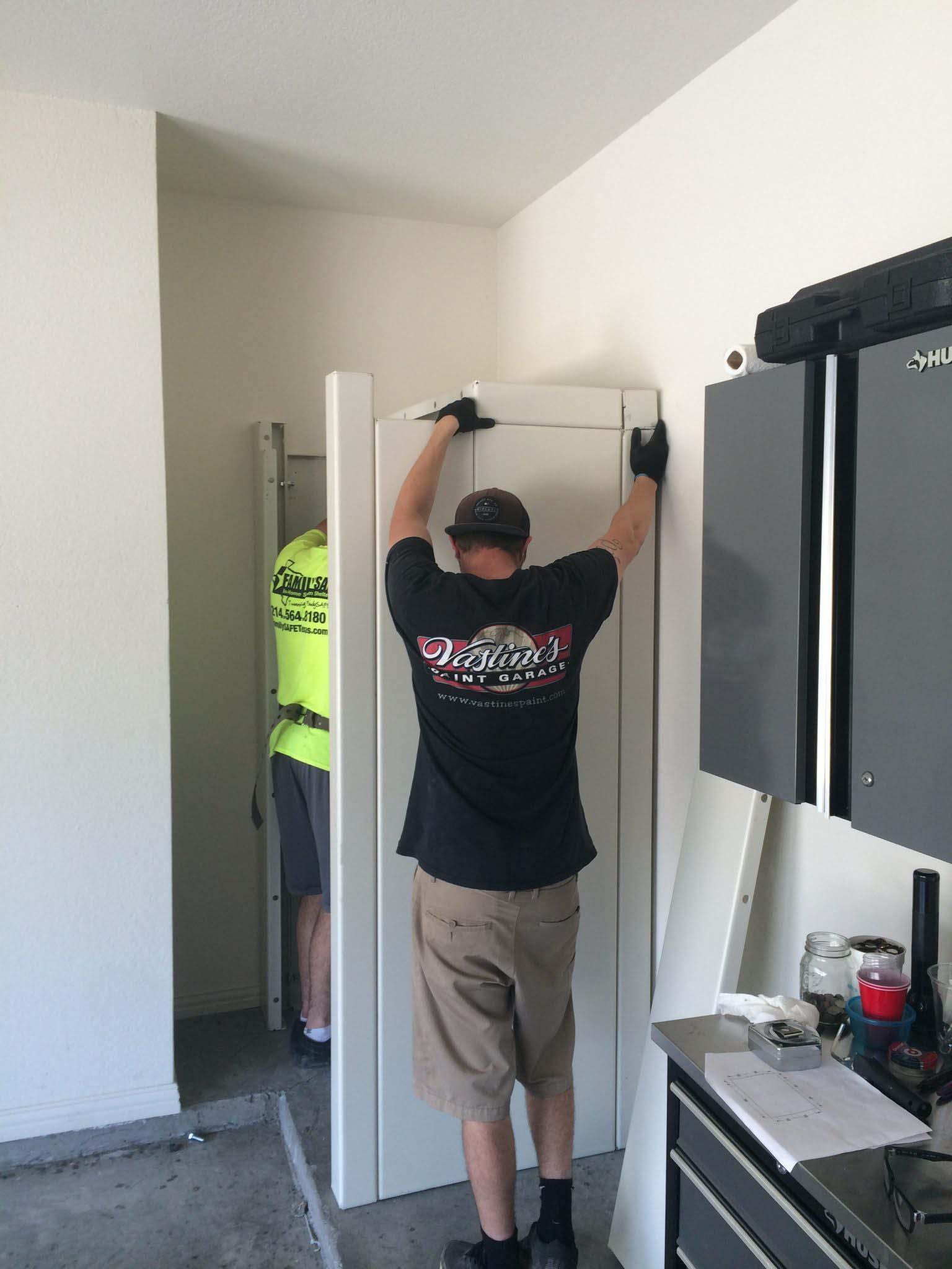 Storm Room & Safe Room installation
