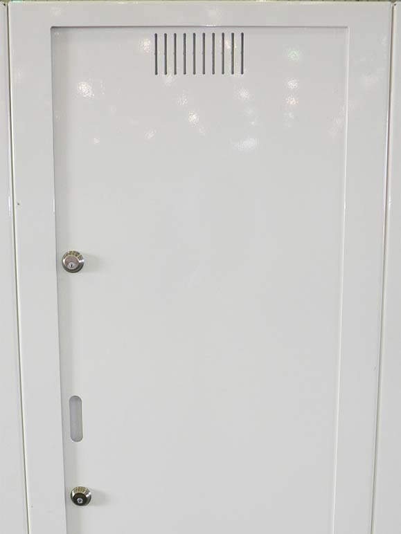 DOUBLE SIDED A-36 STEEL DOOR