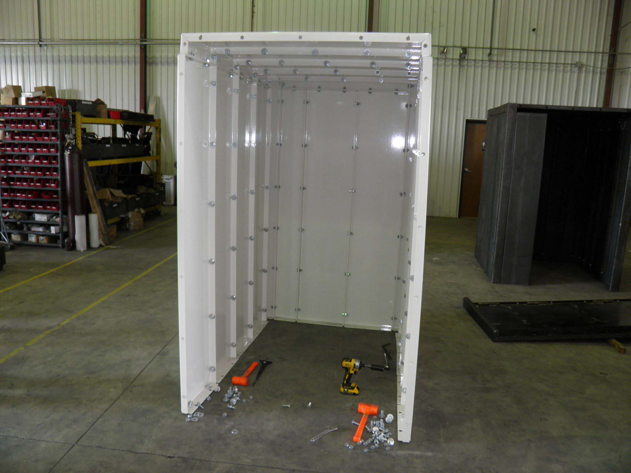 Storm shelter build and construction