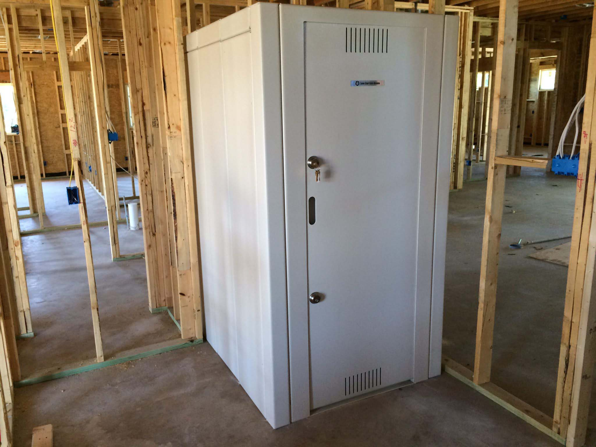 Tornado safe rooms custom safe room builders in texas for Safe room builders