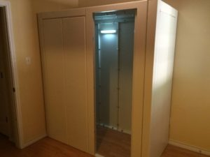 Storm Room & Safe Room installation