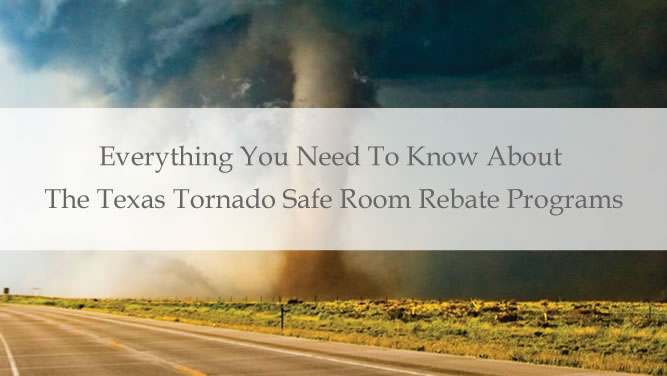 Tornado Safe Room Rebate Programs